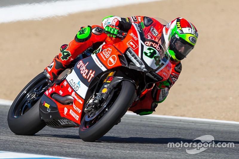 Riscatto Ducati in Gara 2: doppio podio Giugliano-Davies a Laguna Seca