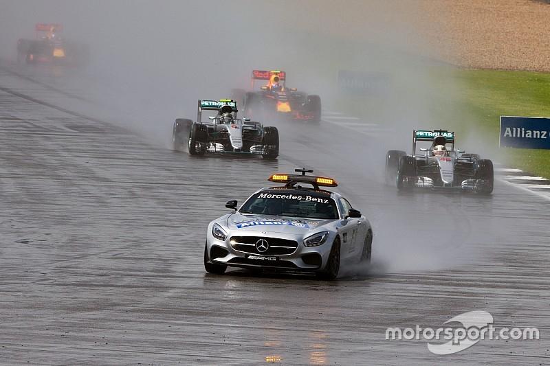 Start hinter dem Safety-Car: Hat die Formel 1 Angst vor Regen?