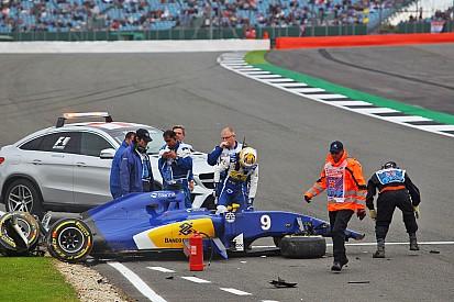 """Ericsson - """"Impressionnant"""" de sortir du crash de Silverstone sans blessure"""