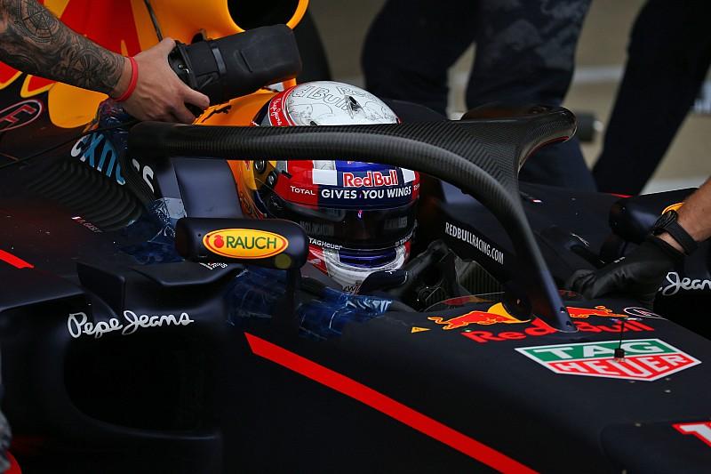 La Red Bull ha provato l'Halo nei test di Silverstone