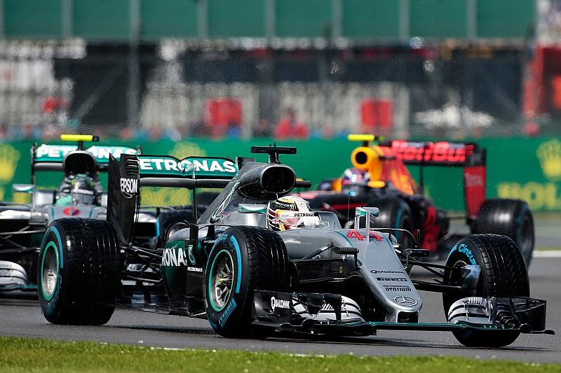Hamilton n'était pas à fond à Silverstone