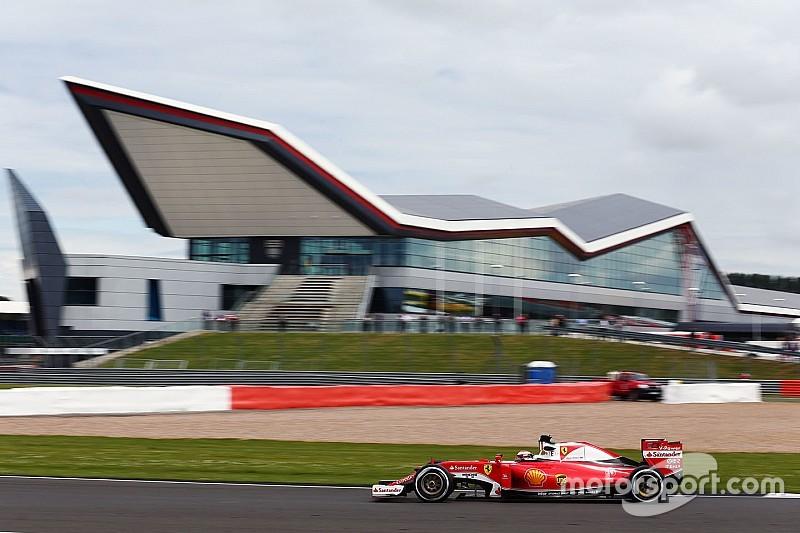 Raikkonen sluit Silverstone-test af als snelste