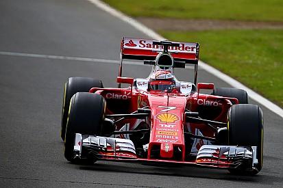 Raikkonen da a Ferrari el liderato en el test de Silverstone