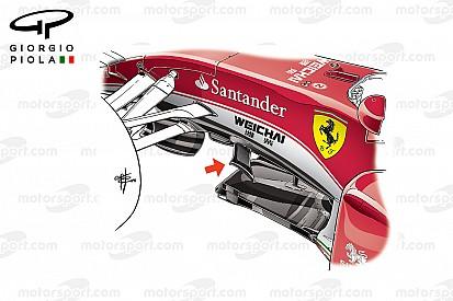 Análise Técnica: as atualizações da Ferrari em Silverstone