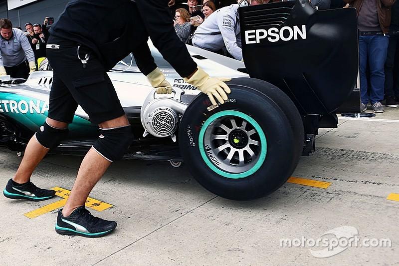 "Hembery: ""Buoni spunti dalle mescole 2017 provate nei test di Silverstone"""