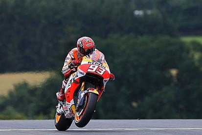 Marquez espera testar novo chassi da Honda neste sábado