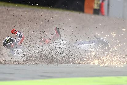 """Lorenzo: """"Al caerme pensé que me perdía la carrera"""""""