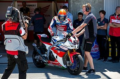 Bradl in beeld voor zitje Van der Mark in WK Superbike