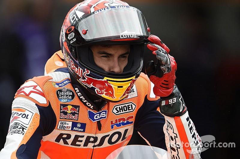 Márquez lidera, Rossi reacciona y Lorenzo, condenado a la Q1