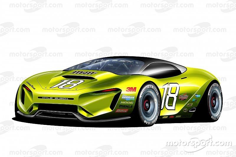 Fotogallery: la NASCAR, concept di fantasia per il 2030