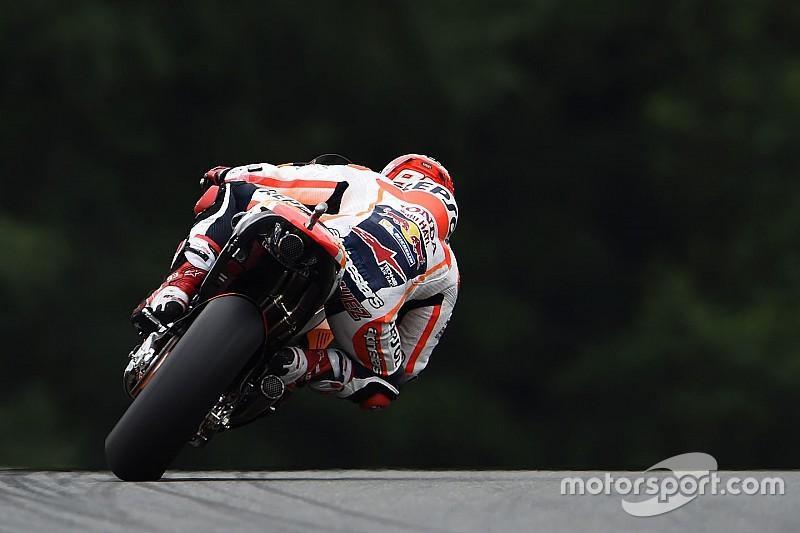 Sachsenring: Pole für Marquez, Lorenzo mit zwei weiteren Stürzen