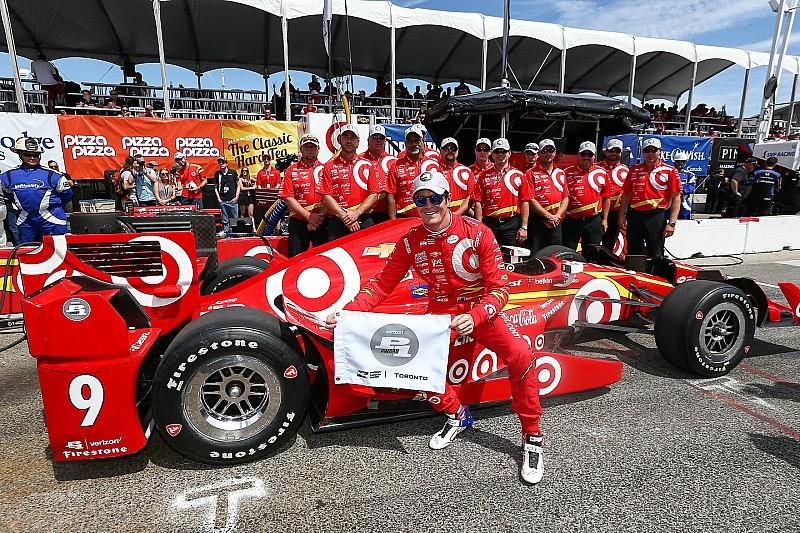 Dixon obtiene la pole position en Toronto