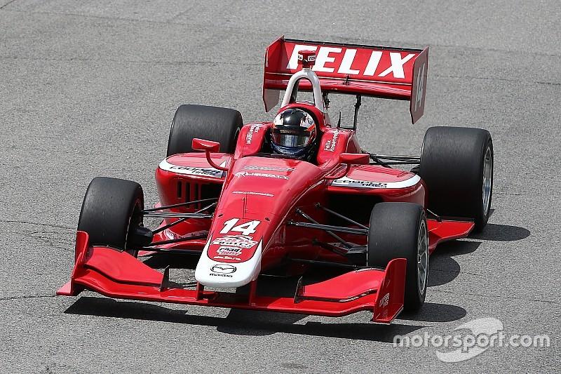 Felix Rosenqvist domina Gara 1 a Toronto