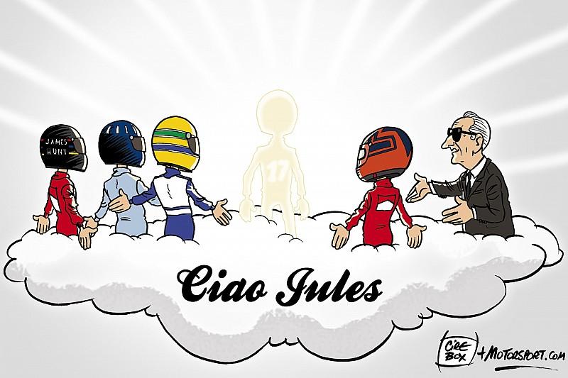 Vor einem Jahr: Jules Bianchi stirbt