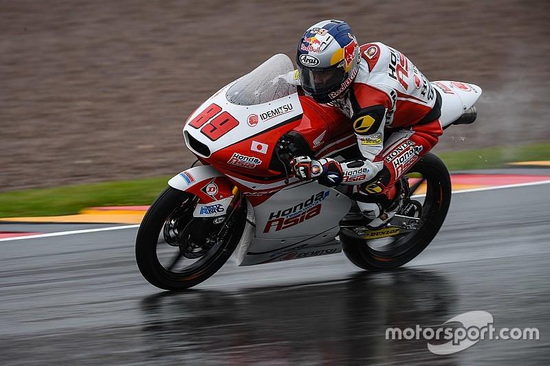 Pawi si conferma mago della pioggia anche al Sachsenring