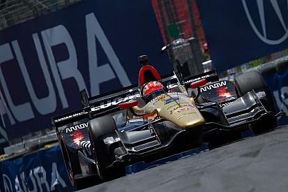 La grille de départ du Honda Indy Toronto