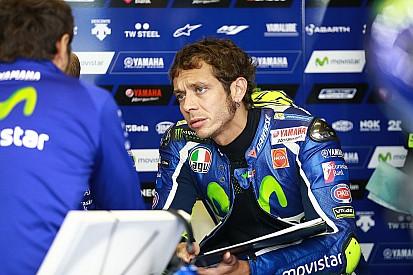 """Rossi admite moto """"muito lenta"""" após troca"""