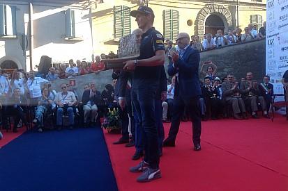 Verstappen premiado con el Trofeo Bandini