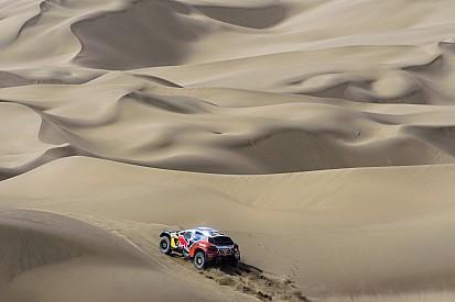 L'étape 11 annulée en raison d'une tempête de sable