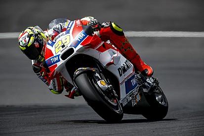 Iannone encerra teste liderando top-4 da Ducati na Áustria