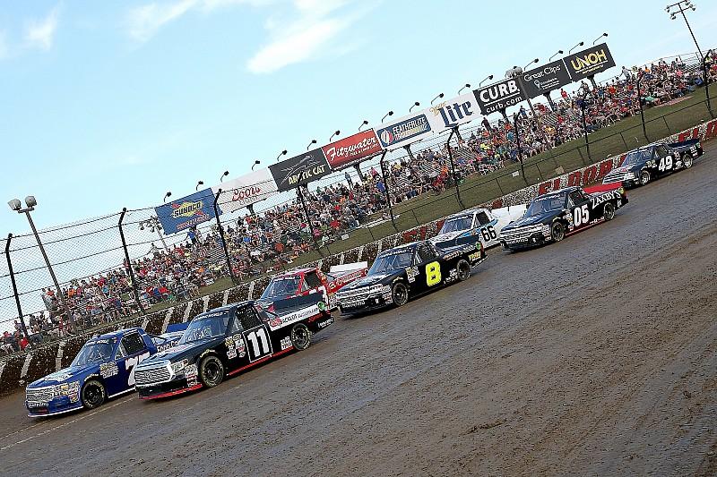 Bildergalerie: Die NASCAR-Trucks auf dem Dirt-Track von Eldora