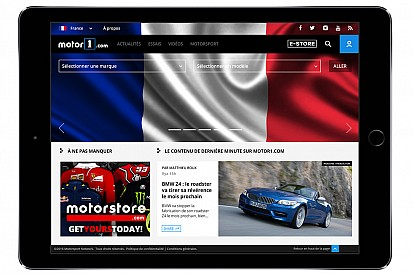 Motor1.com anuncia su expansión europea con el lanzamiento de su edición en Francia