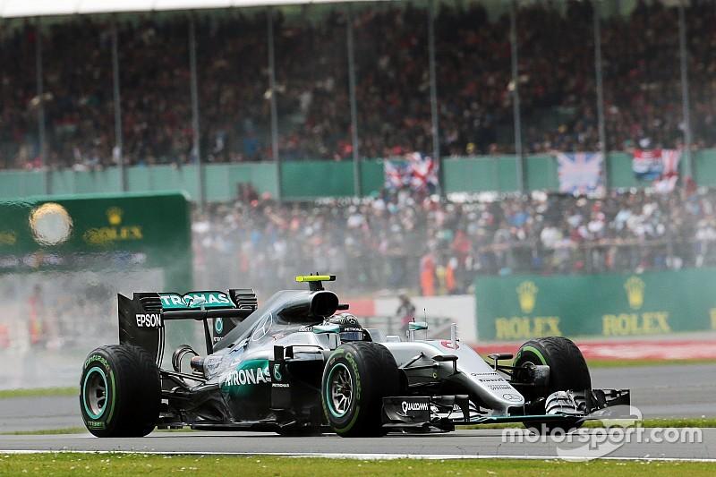"""Mercedes """"optimiste"""" pour la boîte de vitesses de Rosberg"""