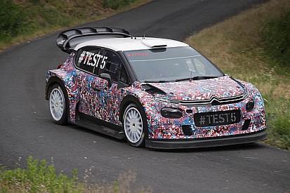 Citroen: primo test assoluto su asfalto per la nuova C3 WRC Plus!