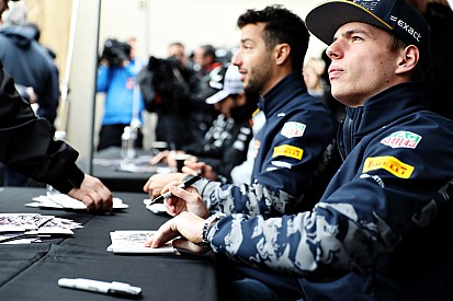 Ricciardo insiste en que no le asusta Verstappen