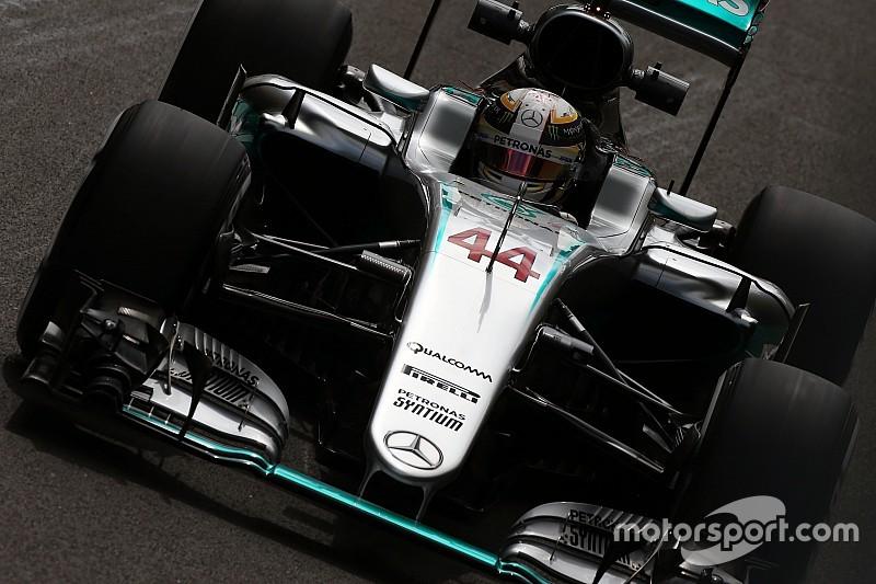 Mercedes monopoliza la FP1 en Hungría