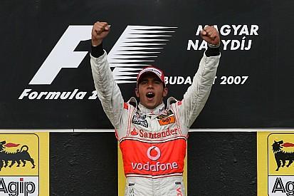 Galería: los 10 últimos ganadores en el Hungaroring