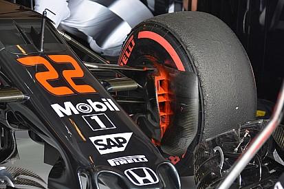 McLaren: modificata la brake duct e il diffusore posteriore
