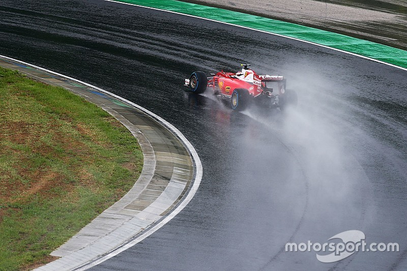 """Raikkonen: """"Basta critiche, finiva in aquaplaning anche la Safety car!"""""""