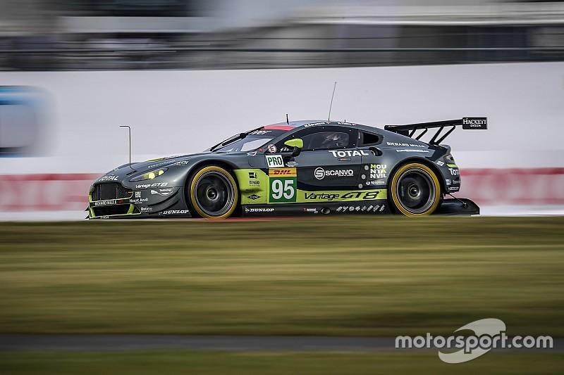 Aston en pole, Ford et Ferrari en embuscade
