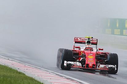 Los pilotos de Ferrari, críticos con los neumáticos de lluvia