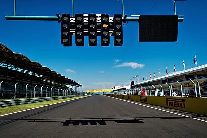 La parrilla de salida para el Gran Premio de Hungría