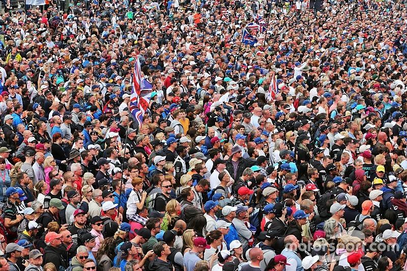 Gran Bretaña y España, cara y cruz de público en F1