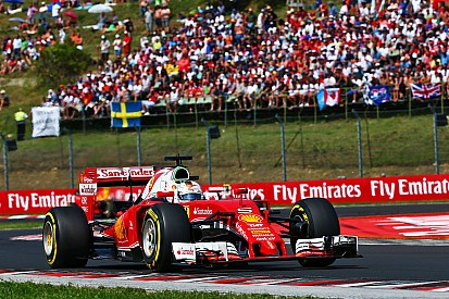 Vettel et Ferrari privés de podium à Budapest