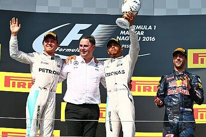 """Mercedes gagne en Hongrie, sur un tracé """"typiquement Red Bull ou Ferrari"""""""