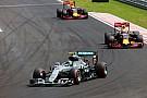Teleurgestelde Rosberg: