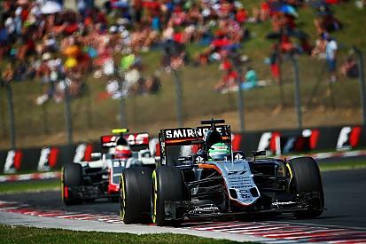 Force India a perdu des plumes dans les stands