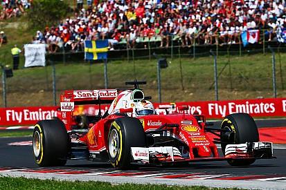 """Vettel: """"Siamo stati più veloci della Red Bull di un paio di decimi"""""""