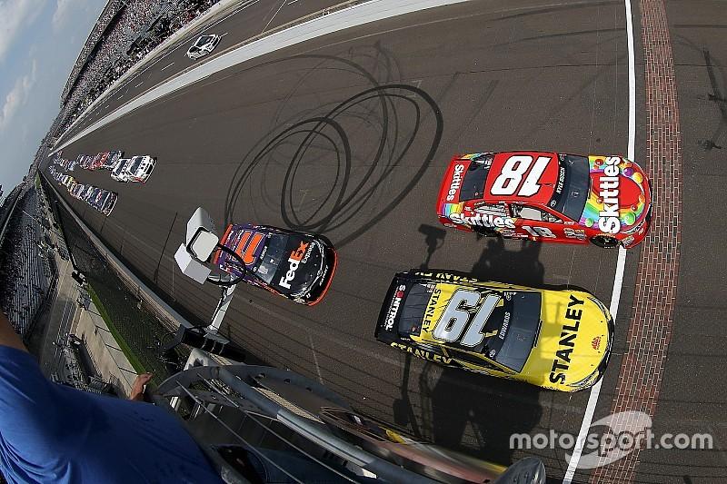 NASCAR in Indianapolis: Das Ergebnis des Brickyard 400 in Bildern