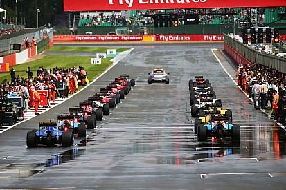 La F1 envisage des départs arrêtés après Safety Car sur piste humide