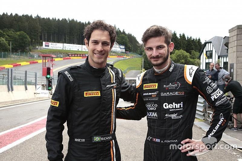 "McLaren GT, Fontana ""chaperon"" di Senna alla 24 Ore di Spa"