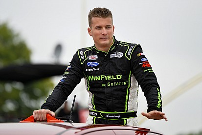 Dakoda Armstrong to drive for Gibbs at Iowa this weekend