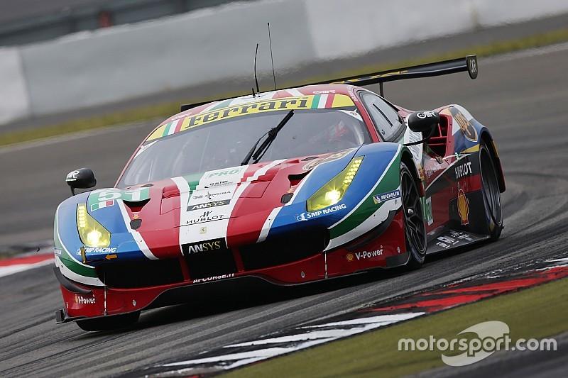 Revanche Ferrari, première pour Bruni et Calado
