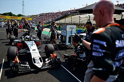 Force India explique l'arrêt au stand désastreux de Pérez