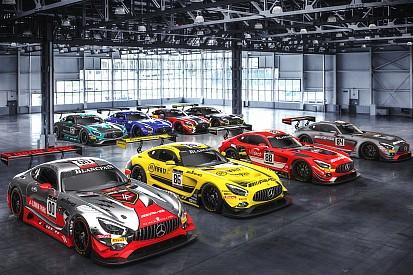 24 uur Spa: Dit zijn de deelnemende bolides van Mercedes