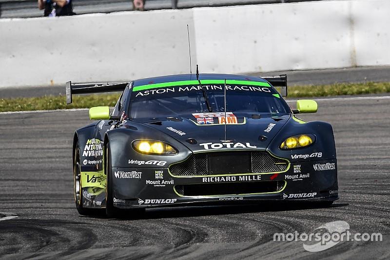 Aston Martin n'abdique pas en GTE Am